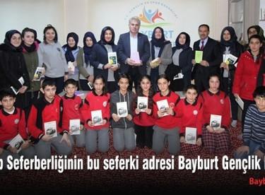Kitap Seferberliğinin bu seferki adresi Bayburt Gençlik Merkezi