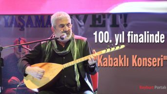 """100. yıl finalinde """"Kabaklı Konseri"""""""