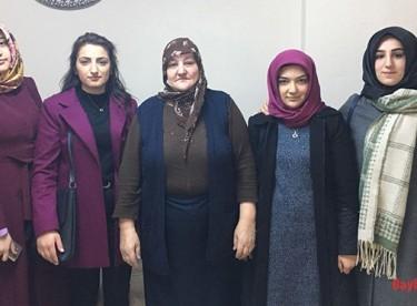 Ülkü Ocakları Asena Birimi'nden şehit ailelerine ziyaret
