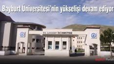 Bayburt Üniversitesi'nin yükselişi devam ediyor