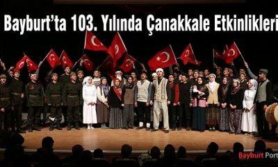 Bayburt'ta 103. Yılında Çanakkale Etkinlikleri