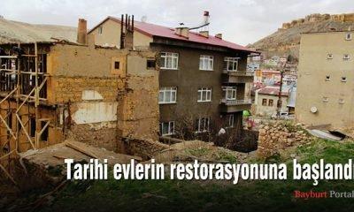 Tarihi evlerin restorasyonuna başlandı