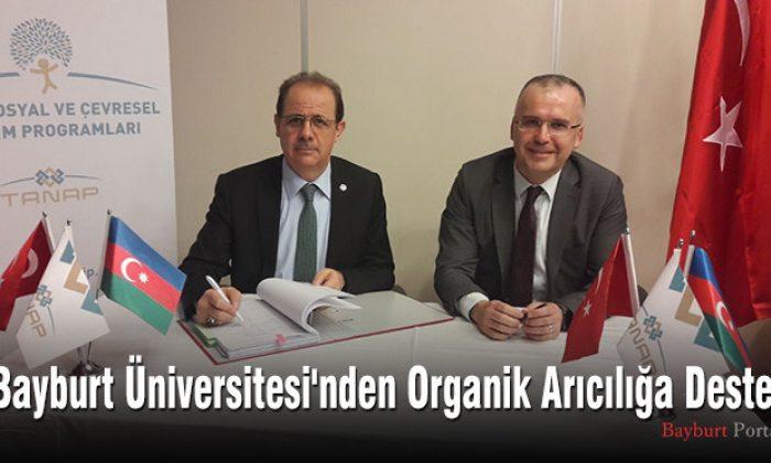Bayburt Üniversitesi'nden Organik Arıcılığa Destek