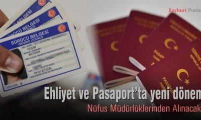 Ehliyet ve Pasaport'ta yeni dönem