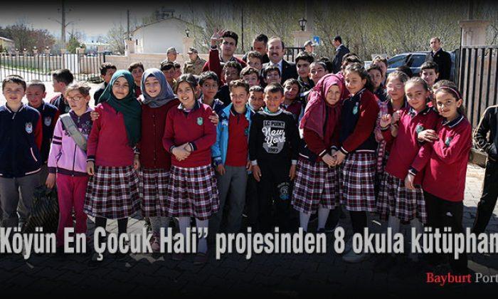 """""""Köyün En Çocuk Hali"""" projesinden 8 okula kütüphane"""