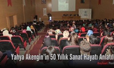 Yahya Akengin'in 50 Yıllık Sanat Hayatı Anlatıldı