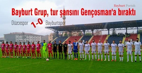 Bayburt Grup, tur şansını Gençosman'a bıraktı