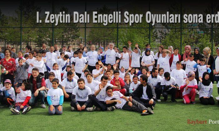 Bayburt'ta 1. Zeytin Dalı Engelli Spor Oyunları