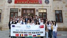 ERASMUS Öğrencilerinden Vali Ali Hamza Pehlivan'a ziyaret
