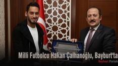 Milli Futbolcu Hakan Çalhanoğlu, Bayburt'ta