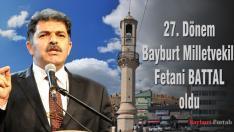 27. Dönem Bayburt Milletvekili Fetani Battal oldu