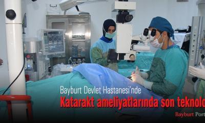 Katarakt ameliyatlarında son teknoloji