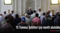 15 Temmuz Şehitleri için mevlit okutuldu
