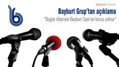 Bayburt Grup'tan beklenen açıklama