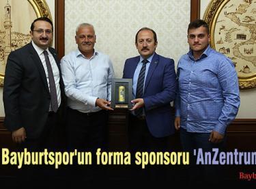 Bayburtspor'un forma sponsoru 'AnZentrum' oldu