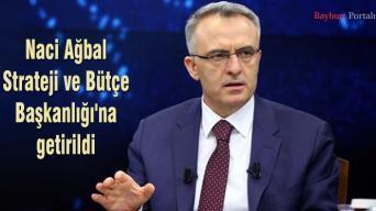 Naci Ağbal, Strateji ve Bütçe Başkanlığı'na getirildi