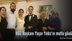 BGC Başkanı Yaşar Yıldız'ın mutlu günü