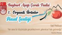 Bayburt 1. Organik Ürünler Hasat Şenliği başlıyor