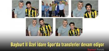 Bayburt İl Özel İdare Spor'da transfer devam ediyor
