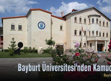 Bayburt Üniversitesi'nden Kamuoyuna