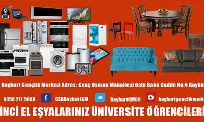 Üniversite öğrencilerine ikinci el eşya kampanyası
