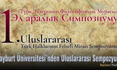 Bayburt Üniversitesi'nden Uluslararası Sempozyum
