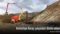 Kırklartepe Barajı ve Aşağı Pınarlı Köyü sahasında inceleme