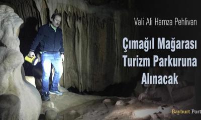 Çımağıl Mağarası, turizm parkuruna alınacak