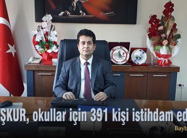 İŞKUR, okullar için 391 kişi istihdam edecek!