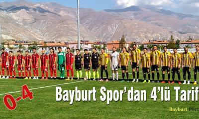Bayburt Spor'dan 4'lü Tarife