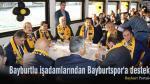 Bayburtlu işadamlarından Bayburtspor'a destek