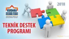 KUDAKA 2018 Yılı Teknik Destek Programı açıklandı