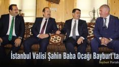 Vali Vasip Şahin'den baba ocağı Bayburt'a ziyaret