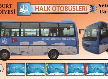 Bayburt'ta 5 Halk Otobüsü hizmete başlıyor
