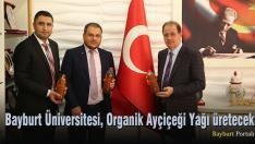 Bayburt Üniversitesi, Organik Ayçiçeği Yağı üretecek