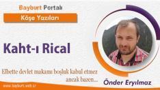 Kaht-ı Rical