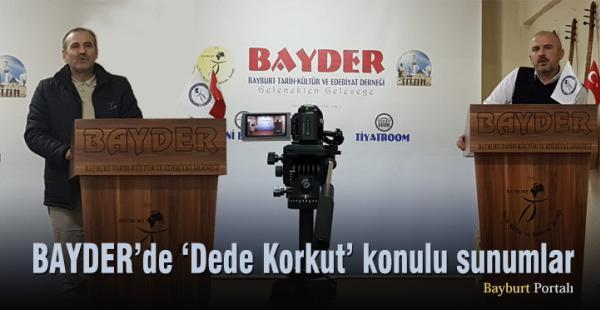 BAYDER'de 'Dede Korkut' konulu sunumlar