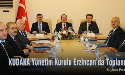 KUDAKA Yönetim Kurulu Erzincan'da Toplandı