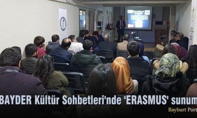 BAYDER Kültür Sohbetleri'nde 'ERASMUS' sunumu