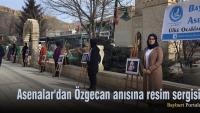 Asenalar'dan Özgecan anısına resim sergisi