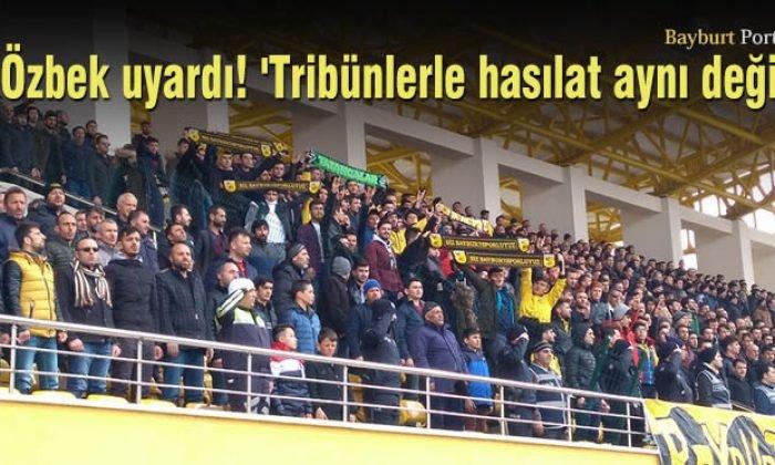 Başkan Özbek uyardı! 'Tribünlerle hasılat aynı değil'
