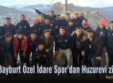 Bayburt İl Özel İdare Spor'dan Huzurevi ziyareti